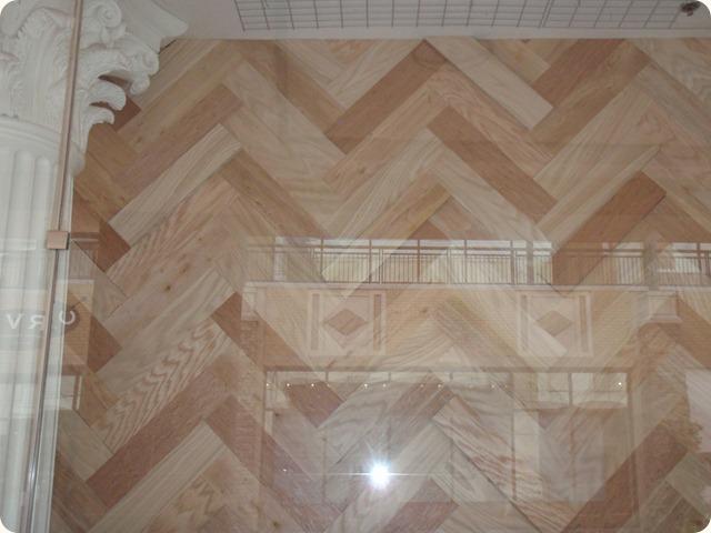chevron wood wall