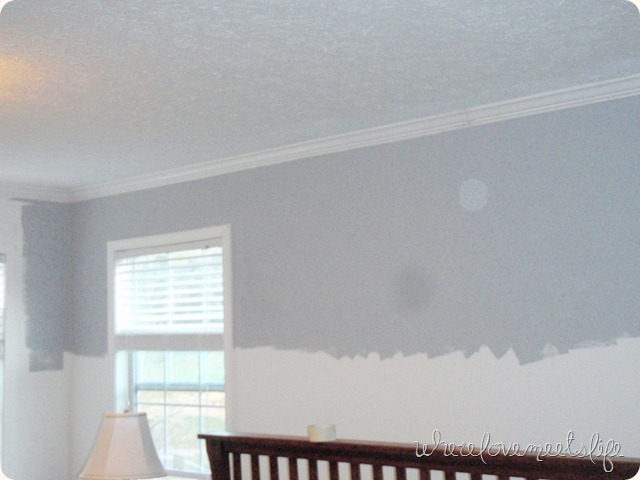Pebble grey walls