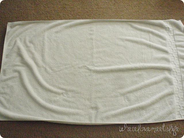 towel before