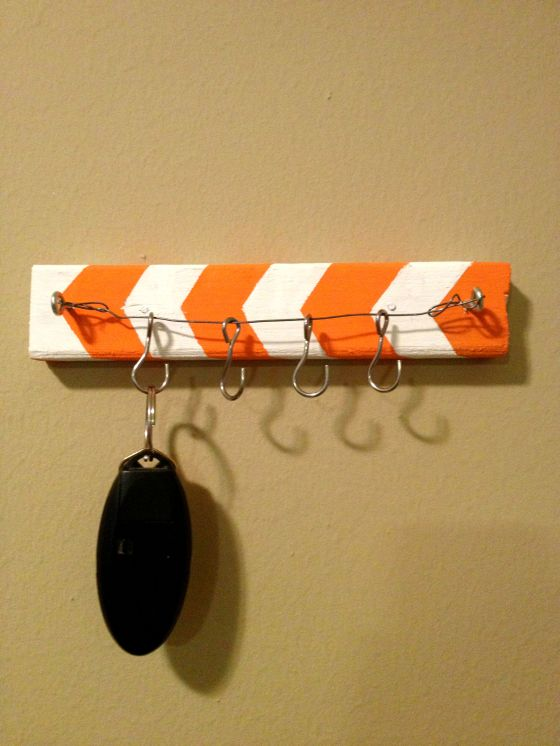 DIY key holder 3a