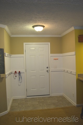 entryway after
